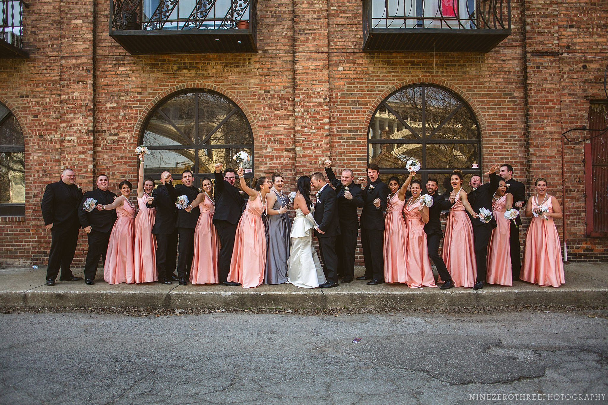 Downtown Cleveland Wedding Pictures 19
