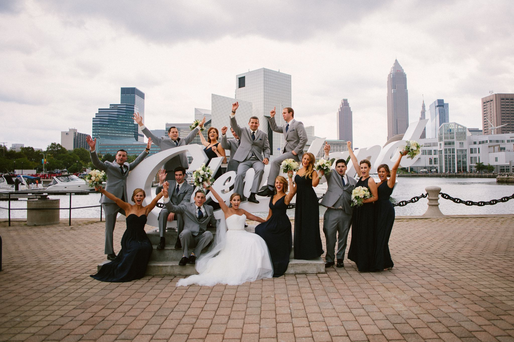 Downtown Cleveland Wedding Pictures 94